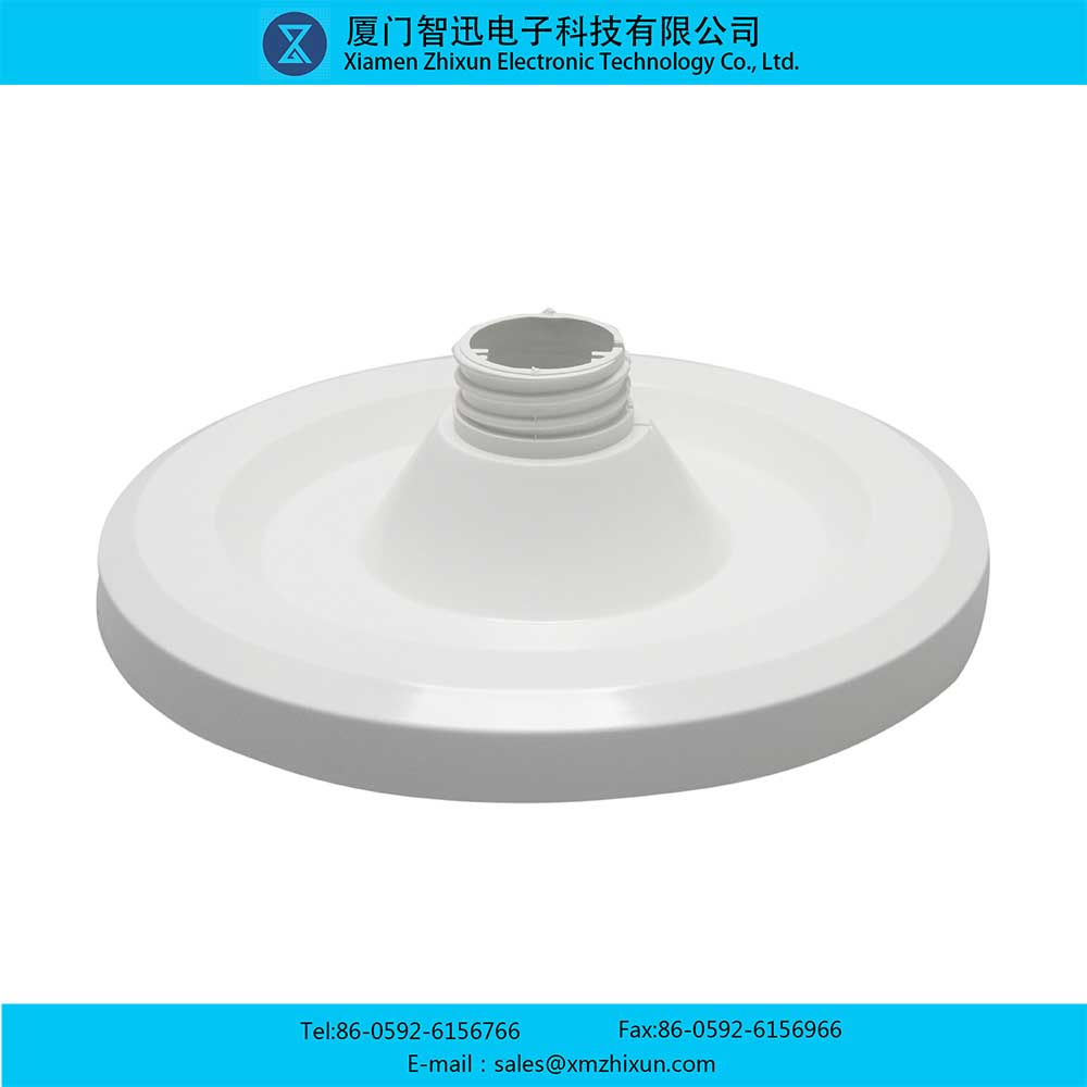 LED home office lighting PBT smooth surface pure white mushroom lamp D125 under cover lamp shell kit lamp holder lamp cup flat