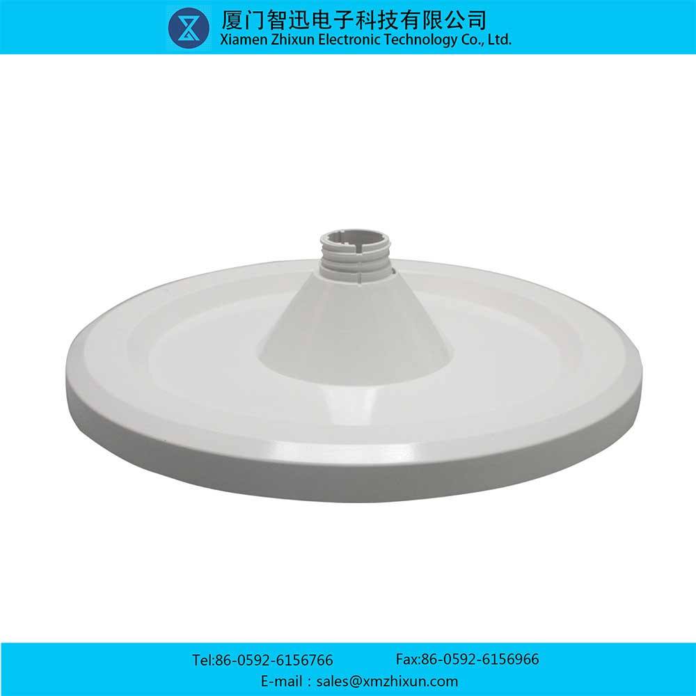 LED commercial home indoor energy-saving lighting flat lamp mushroom lamp D150 under cover PBT pure white lamp shell kit lamp holder lamp cup