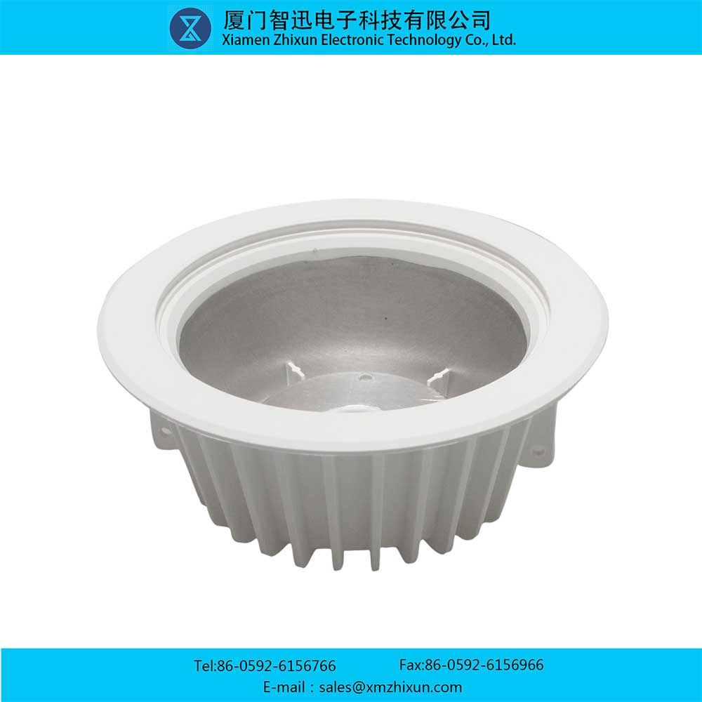 LED17001 environmental protection energy saving indoor lighting ceiling downlight thickening lamp shell component lamp cup lamp holder housing